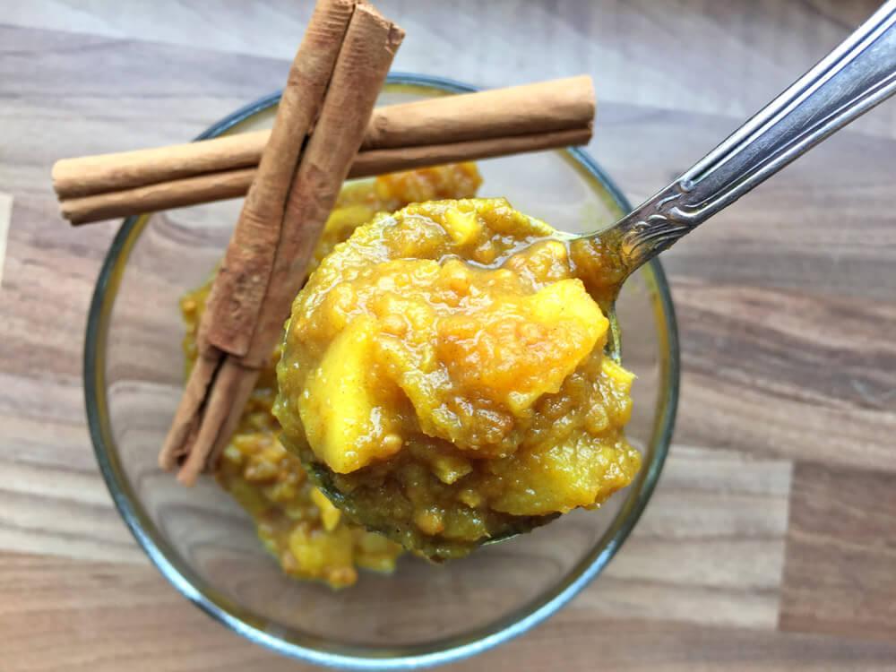 Apfel-Ingwer Chutney nach Ayurveda Art